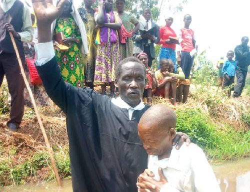 Five Souls Baptized in September This Year in Kibungo, Rwanda