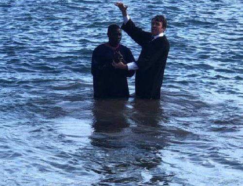 One Soul Baptized during the Second Christian Conference in Cape Verde