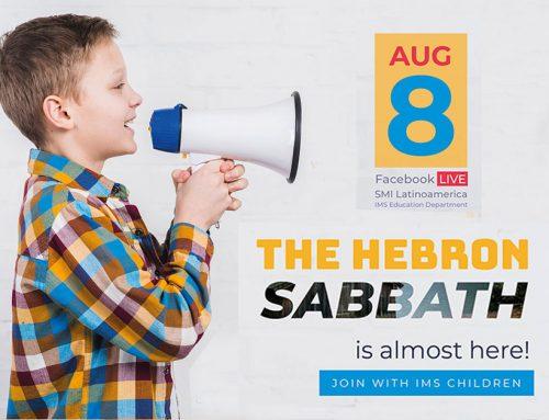 Hebron Sabbath – August 8th 2020