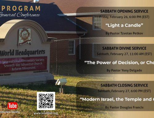 Program General Conference – Feb 26-27