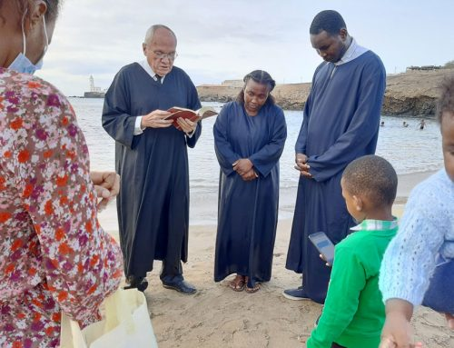 Two Souls Baptized in Capo Verde in May 2021