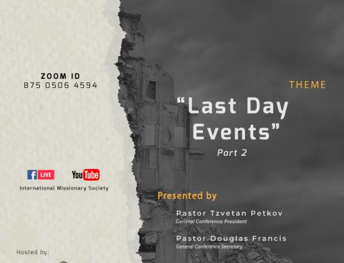 Webinar – Last Day Events – Part 2