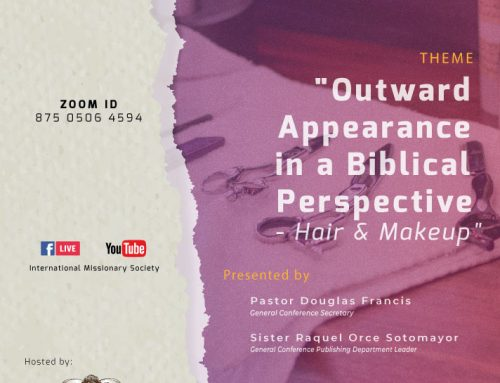 Q&A Session – Outward Appearance in a Biblical Perspective - Hair & Makeup