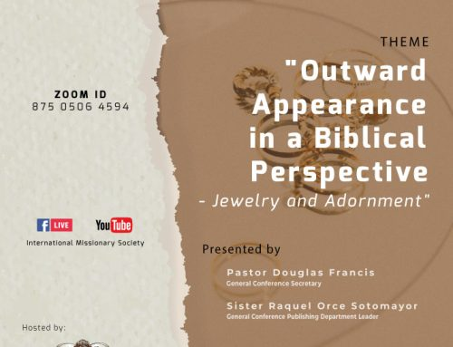 Q&A Session – Outward Appearance in a Biblical Perspective - Jewelry and Adornment